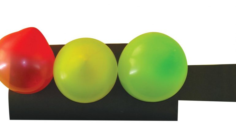 Balondan Trafik Lambası