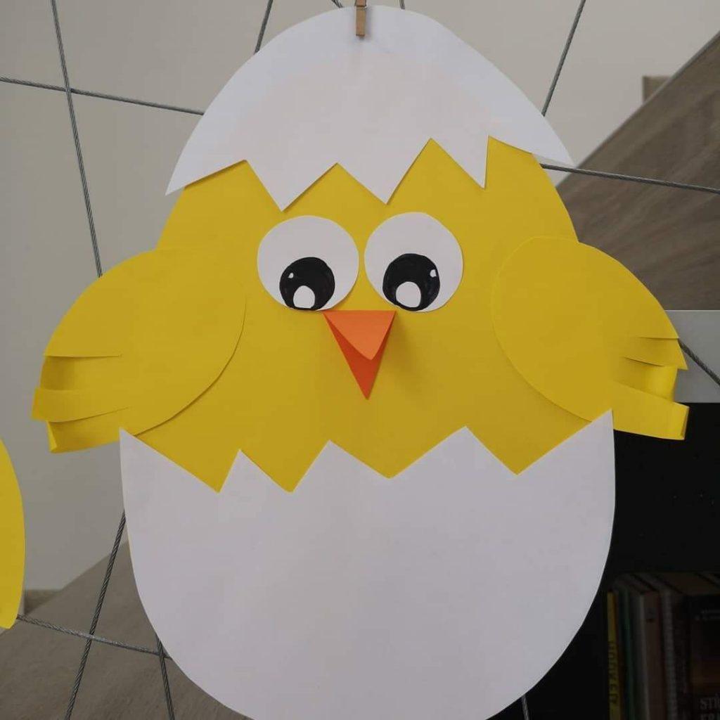 Yumurtadan Civciv çıkmış Erken çocukluk Eğitimi Etkinlikleri