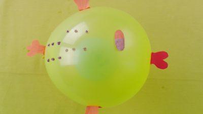 Balondan Balık Yapımı ve Anlatımı